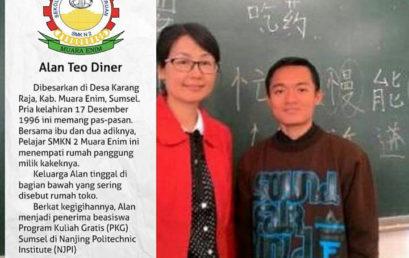 """Alumni Berprestasi SMKN 2 Muara Enim """"Alan Tio Diner"""" Go Internasional"""