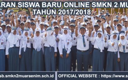 Pendaftaran Online Siswa Baru SMKN 2 Muara Enim 2017/2018