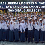 Verifikasi Berkas Dan Tes Minat-Bakat Calon Peserta Didik Baru 2017/2018