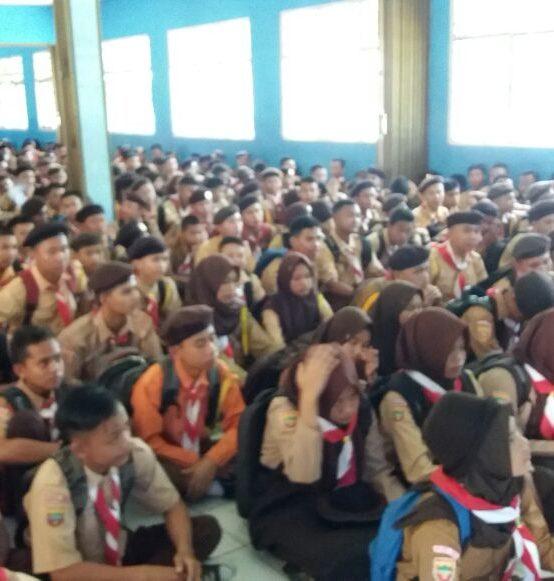 Kegiatan MPLS Siswa Baru SMKN 2 Muara Enim TP 2017/2018