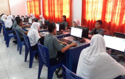 Simulasi UNBK SMP Negeri 2 Muara Enim Tahun 2018