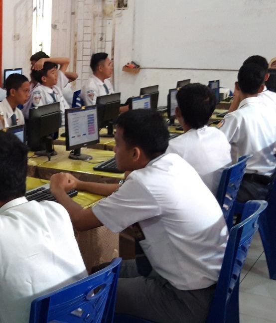 SMK Negeri 2 Muara Enim Melaksanakan UASBK