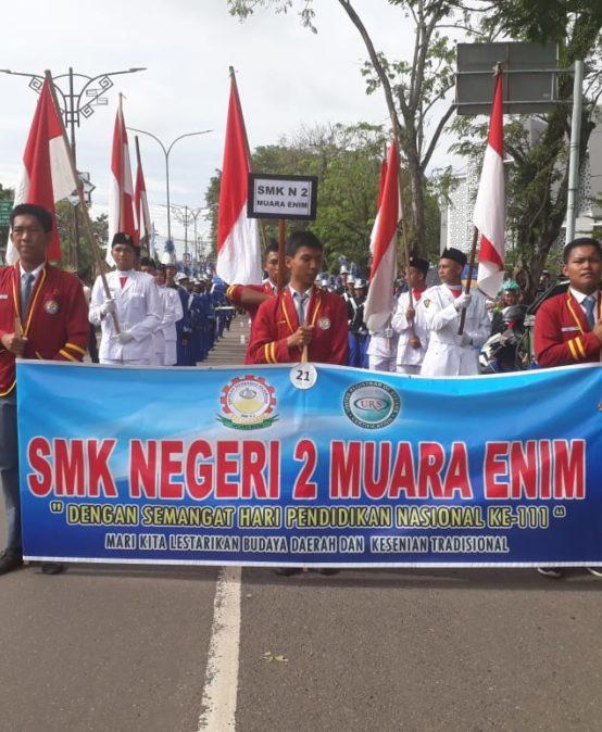 SMKN 2 MUARA ENIM RAIH JUARA 1 DALAM FESTIVAL (KARNAVAL) BUDAYA DAERAH TH. 2019